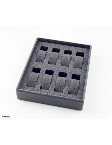 Tray for watches 4840X8 with 8 compartments for supports