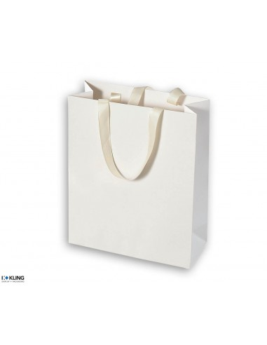 Paper bags with satin ribbon - KT2