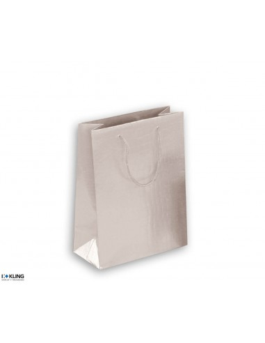 Paper bags with crocodile structure and cotton cord - KT3