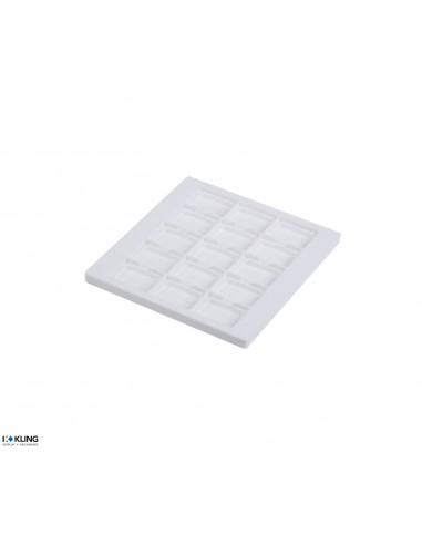 Vacuum-formed insert 4252XV with 15 deep compartments