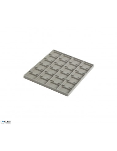 24 deep compartments for Pad series 331