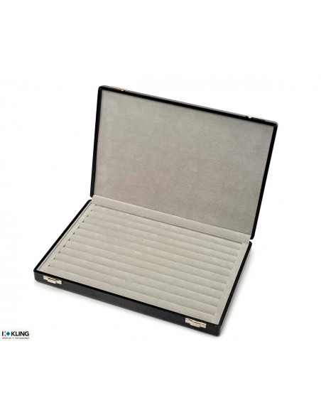 Presentation case 1930W with cont. covered sponge rolls