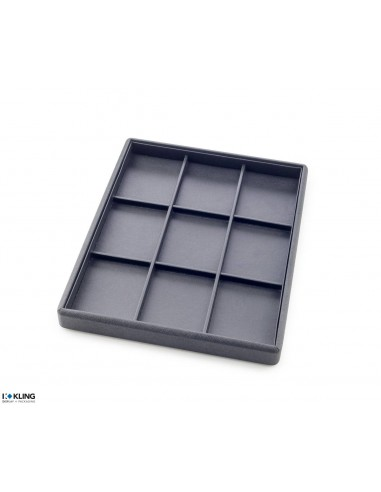 Tray for watches 4810X9 with 9 compartments