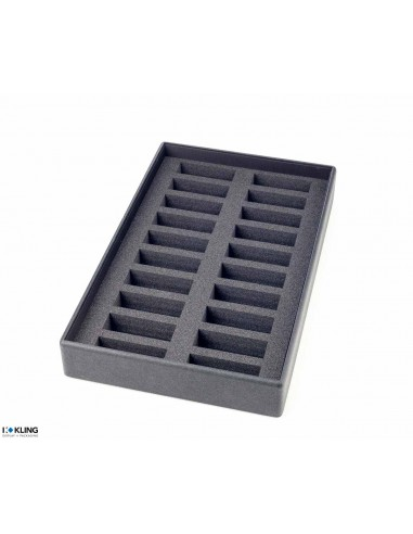 Tray for watches 4840/50 with 20 compartments for supports