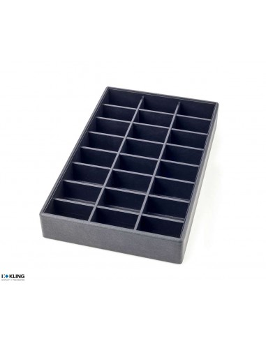 Tray for watches 4842/65 with 24 compartments