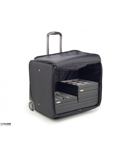 Jewelry case with laptop bag 4827R