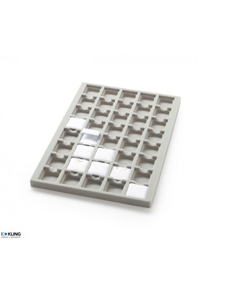 Vacuum-formed insert 3016V with 40 deep-set compartments