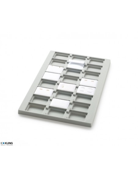 Vacuum-formed insert 3014V with 24 deep compartments