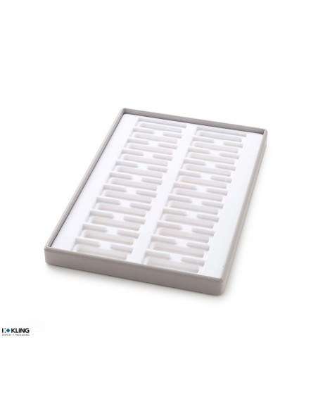 Vacuum-formed insert 3164 with 22 deep compartments