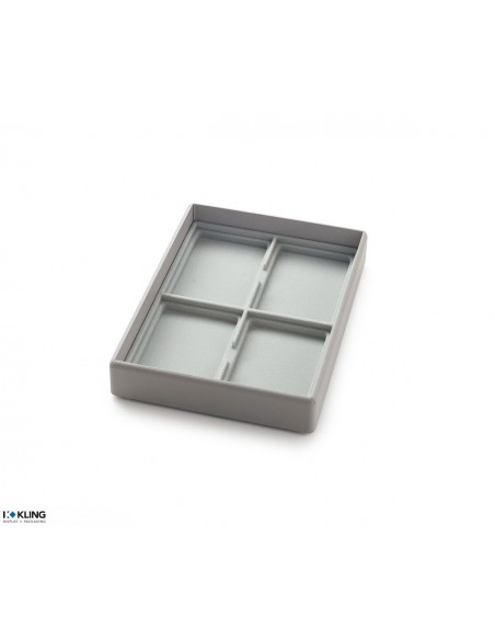Vacuum-formed insert 3011XV with 4 deep-set compartments