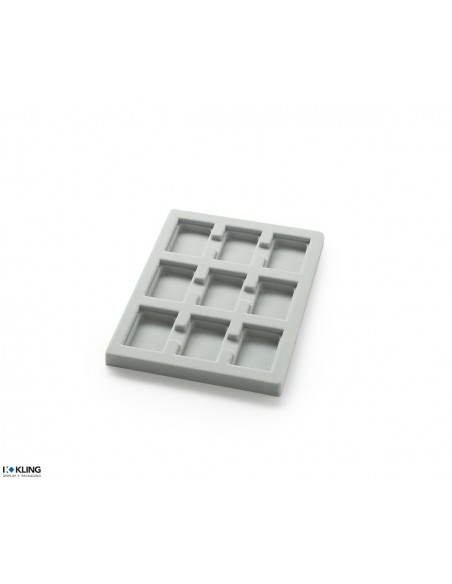 Vacuum-formed insert 3149XV with 9 deep compartments