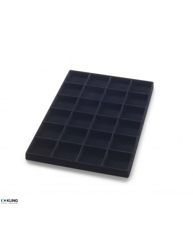 Vacuum-formed insert 3064 with 24 compartments, high dividers