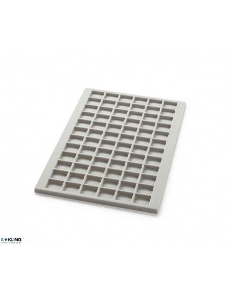 Vacuum-formed insert 3062 with 72 compartments, high dividers