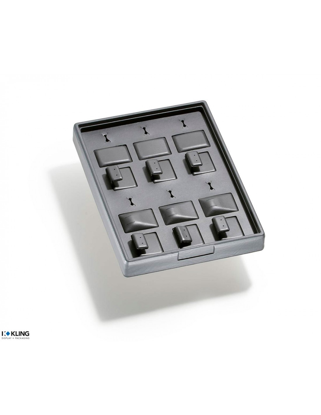 Set Tray with 12 compartments and 6 ring slits RLD22A - 270x200x33 mm