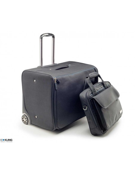Jewelry case 4027R with laptop bag
