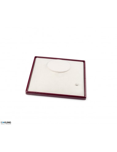 Bust tray 4157 for collier and ring