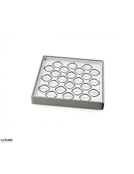 Ring tray 4129 with 12 containers