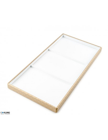 Jewlery tray 4244 with 3 flat taffeta compartments