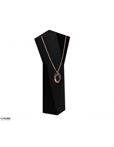 Necklace bust / Decoration bust DE63B1, black