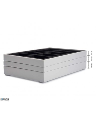 Stackable trays / Poly trays 3911