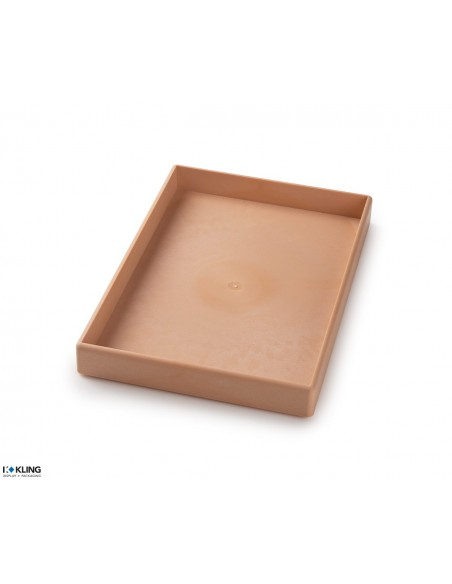 Injection moulded tray 3904
