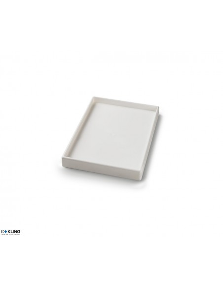 Injection moulded, stackable tray 3904X