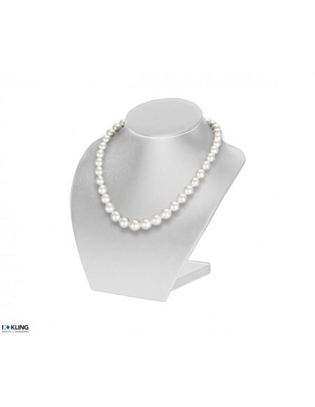 Necklace Bust DE30B1, white