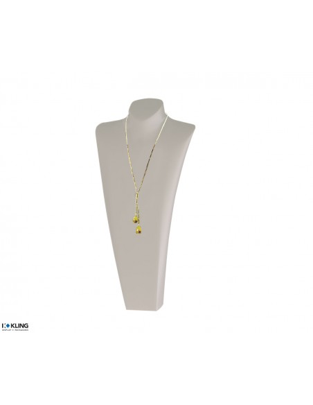 Necklace Bust DE61B2, white