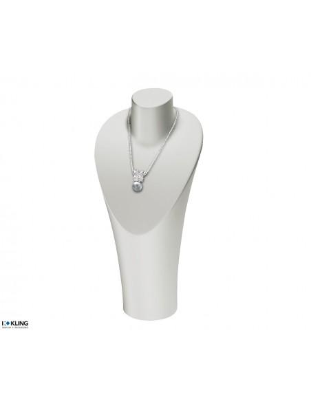 Necklace Bust DE56/2, white