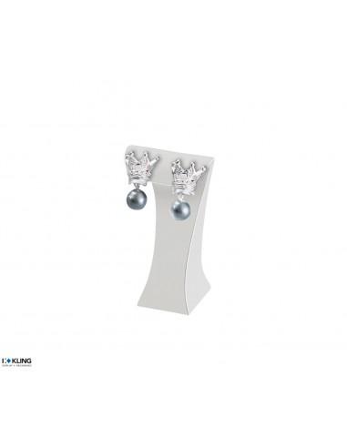 Earring Stand DE56/15, white