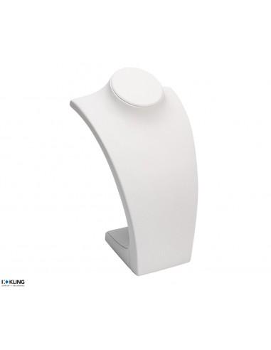 Necklace Bust DE42B1 - 210x170x345 mm, white