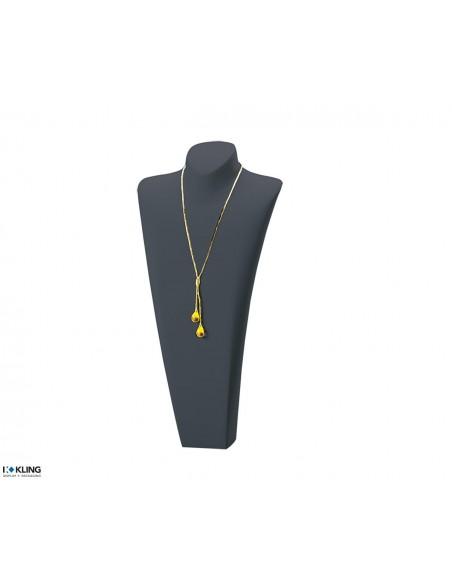 Necklace Bust DE61B2, black