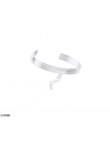 Transparent plastic clip for watches 7G/P2