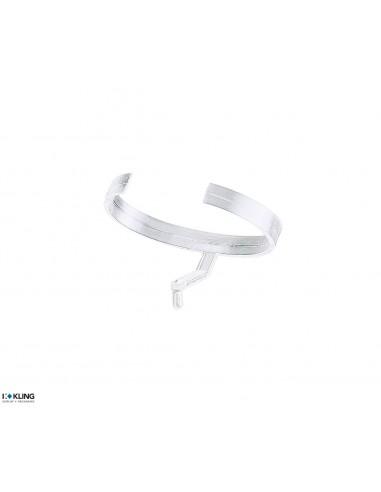 Transparent plastic clip for watches 7G/P2