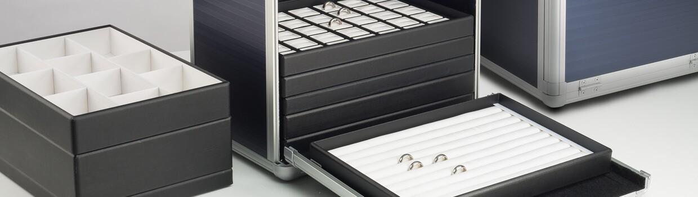 Série de plateaux et de valises Basic Plus