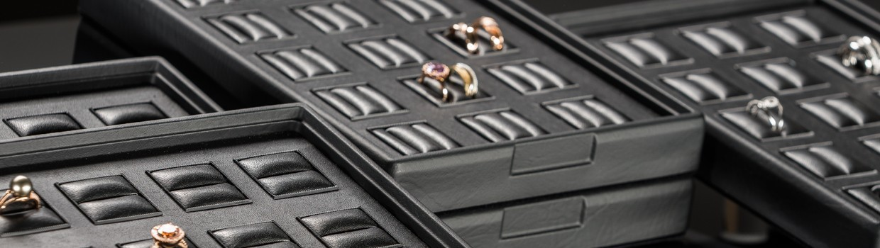 Jewellery trays for Rings